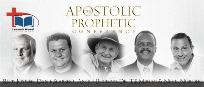AngusBuchan RickJoyner NAR Invasion of SA   Rick Joyner, Angus Buchan, Danie Slabbert, Nevil Norden @ Apostolic Prophetic Conference   July 2012
