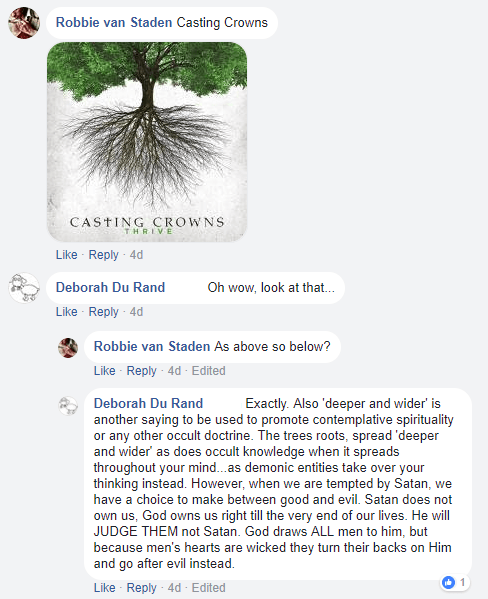 Facebook chat - tree of life - casting crowns