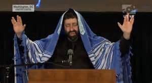 Jonathan Cahn - mystic Rabbi handsign