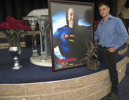 Kobus van Rensburg superman Kobus van Rensburg   Attempt to Raise Superman from the Dead