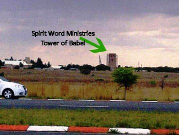 KobusvanRensburg SpiritWordMinistries TowerFormHighway Kobus van Rensburg and his Tower of Babel