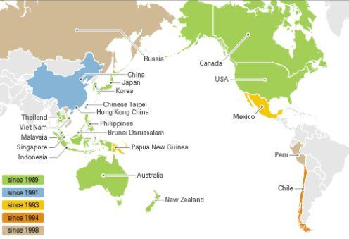 Final Countdown New World Order - Us And Pacific Countries Maps