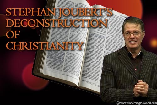 Stephan Jouberts deconstruction of Christianity Stephan Jouberts Censorship of Paul and Deconstruction of Christianity