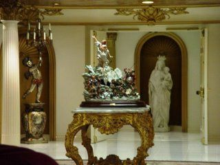Crowned MARY on 2nd floor of TBN Headquarters - Costa Mesa, California