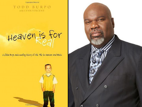 TDjakes heavenisforreal T.D. Jakes To Produce New Film   Heaven Is For Real