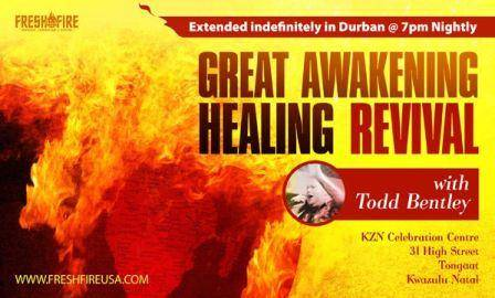 ToddBentley GreatAwakeningHealingRevival Todd Bentley (Fresh with the Fires of Hell) visiting South Africa   BEWARE!