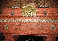 Swedenborg Tomb - http://en.wikipedia.org/wiki/File:Swedenborg%27s